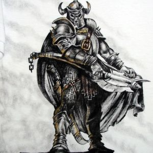 Bárbaro:: Série Tattoo - Atelier Sandra