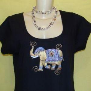 Elefantinho da Sorte 2 - Atelier Sandra