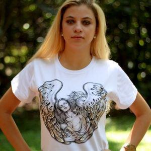 Anjo do Coração::Série Tattoo - Atelier Sandra