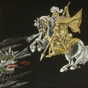 São Jorge com o Dragão II - Atelier Sandra