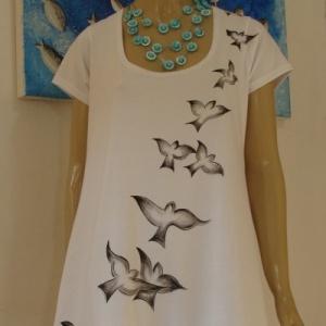 Vestido Pássaros - Atelier Sandra