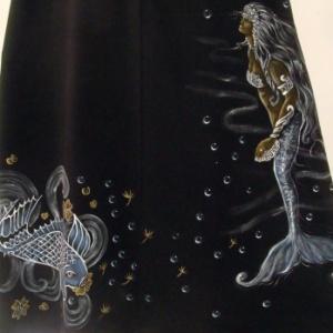 Sereia e a Carpa Azul - Atelier Sandra