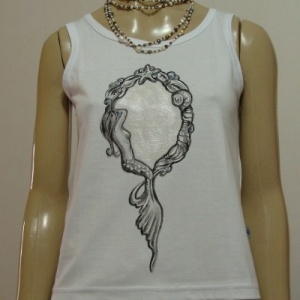 Espelho Sereia - Atelier Sandra