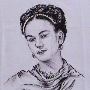 Frida :: Série Tattoo - Atelier Sandra