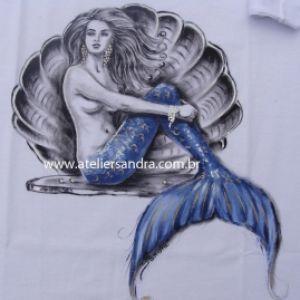 Sereia Azul - Atelier Sandra
