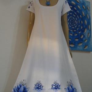 Flor de Lotus Azul - Atelier Sandra
