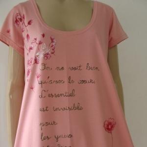 Vestido Rosa Pequeno Príncipe peça única - Atelier Sandra