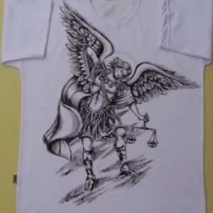 Arcanjo São Miguel :: Série Tattoo - Atelier Sandra