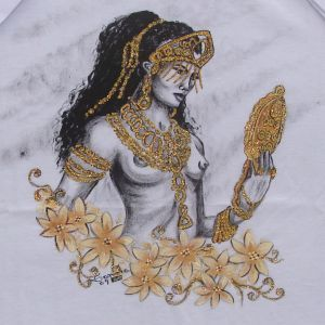 Oxum :: Série Tattoo - Atelier Sandra