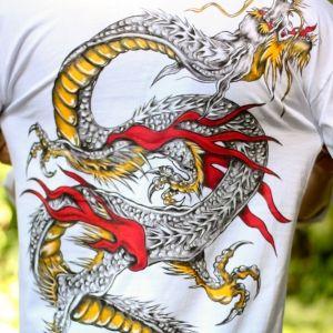 Dragão Chinês::Série Tattoo - Atelier Sandra