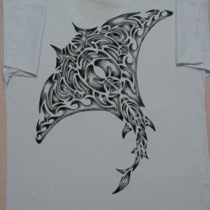 Arraia Tribal :: Série Tattoo - Atelier Sandra