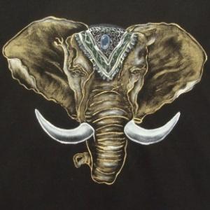 Cabeça de Elefante Indiano - Atelier Sandra