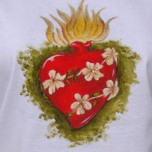 Sagrado Coração de Maria - Atelier Sandra